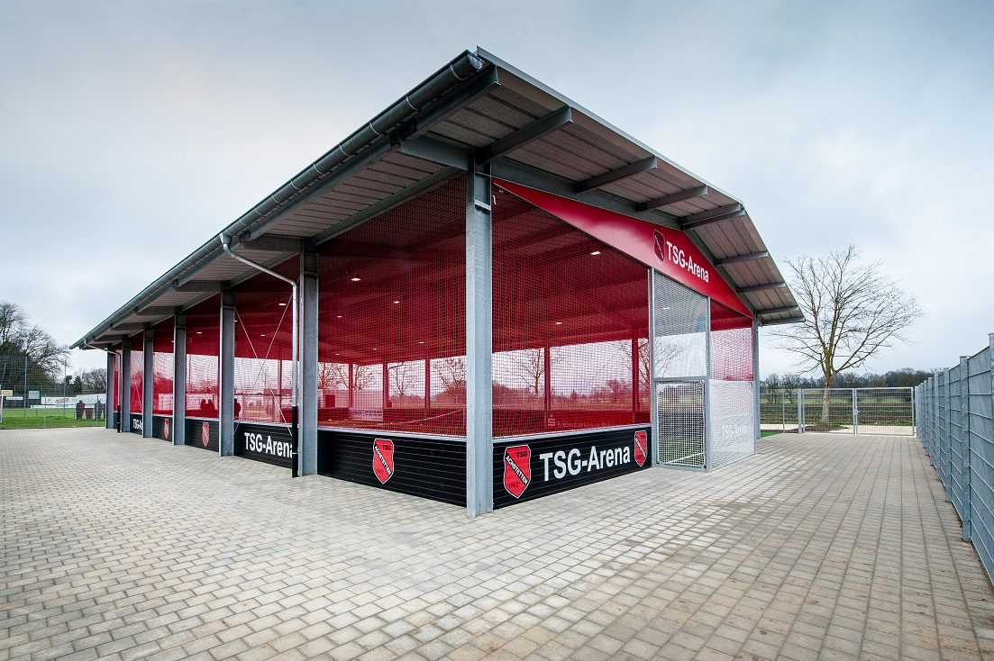 TSG Arena Achstetten - Enkele hal McArena