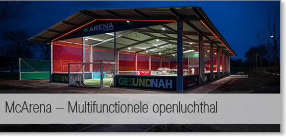 McArena - Multifunctionele openluchthal - All-In Sport