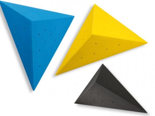 All-In Sport: - Zur einfachen Montage auf Holzwänden<br />- Spaxschrauben inklusive<br />- 10 Einschraubmöglichkeiten für Klettergriffe