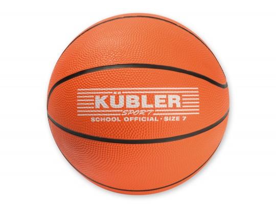 All-In Sport: Rubber basketbal met goede grip. Robuuste uitvoering, ideaal voor scholen. Maat en gewicht volgens internationaal voorschrift.