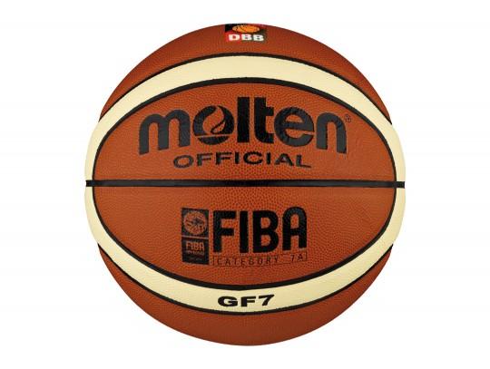 All-In Sport: <b>Molten Basketball GF7 - Top Indoor-Basketball, FIBA approved und DBB-geprüft</b><br /><br />Die Oberfläche des Molten GF7 besteht aus ...