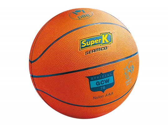 All-In Sport: De Seamco SUPER K - bekend en geliefd <br /><br />Deze Wedstrijd-Basketbal is in 2 maten beschikbaar:<br /><br />Maat 5 - Art.Nr.: B1617<...