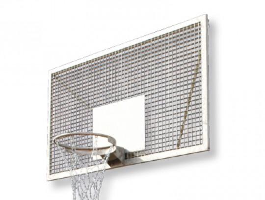 All-In Sport: Van speciaal, volledig gelast roosterbord. Bijzonder stil, omdat het trefvlak van de bal minimaal is. Vandalismebestendig. Verdere compo...