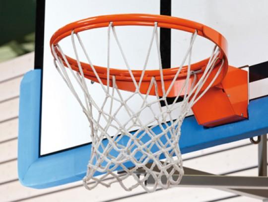 All-In Sport: Deze ring is uitgevoerd met een superveilige netbevestiging ipv de normale nethaken en klapt gedempt naar beneden na het bereiken van de ...