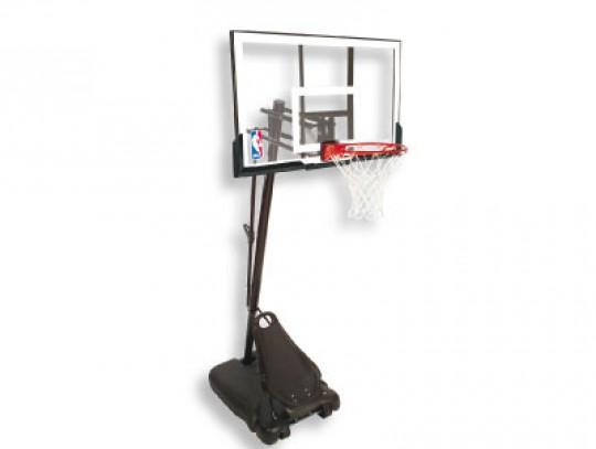All-In Sport: Streetball-installatie met ca. 122 cm breed en 110 cm hoog bord van doorzichtig acryl. De stabiele bordstrips en een extra bordpolstering...