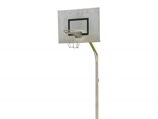 All-In Sport: Een mast speciaal voor trapvelden, speelplaatsen en schoolpleinen. Officiële wedstrijd-ringhoogte 305 cm, stabiele constructie van staalp...