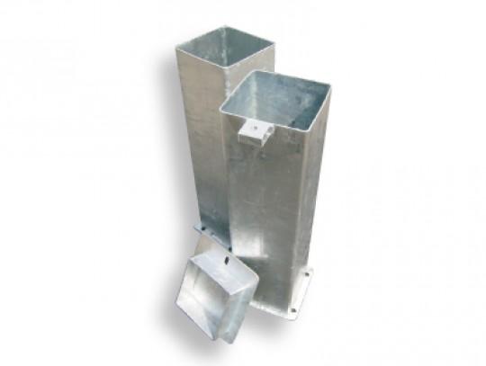 All-In Sport: Verankerbaar. Voor bodemhuls 150 x 150 mm.