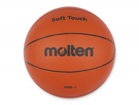 All-In Sport: Rubberbal voor spel en recreatie, goede stuitkracht, robuust. Afm. Ø 21 cm, gewicht 280 gram.