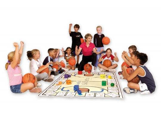 All-In Sport: Dit spel werd als leerinstrument ontwikkeld (voor 1 tot 100 kinderen in elke leeftijdscategorie), om een veelvoud aan, bij het basketbal ...