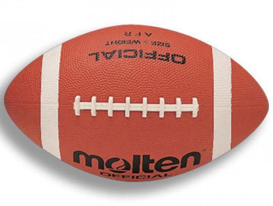 All-In Sport: Wedstrijdbal, nylon karkas, superstroef rubber oppervlak met diepe noppenfinish, Butyl binnenbal, maat en gewicht volgens voorschrift.