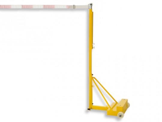 All-In Sport: Gewicht ca. 115 kg, Pfosten 40 x 40 mm, sehr hohe Standfestigkeit, höhenverstellbar von 160 - 202 cm, einschl. Gurtbandratsche zum Anspan...