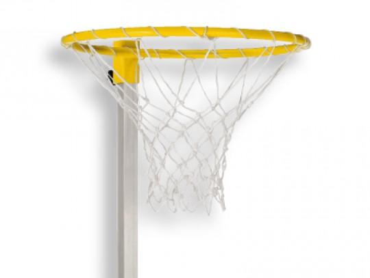All-In Sport: Korbballkorb zum Anschrauben an Sprungständersäule, inklusive Netz.