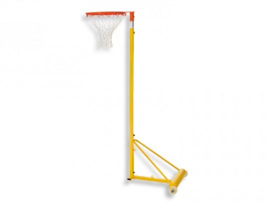 All-In Sport: Met telescopische hoogteverstelling van 210 naar 305 cm, afneembare ring met nylon net, met bevestigingshaak voor hoogspringen, gewicht p...