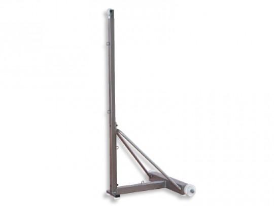 All-In Sport: <p>Analoog aan de badmintonpaal Supercup is deze paal iets lichter en zodoende ook goedkoper. Deze paal is geschikt voor trainings- en re...