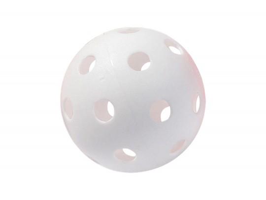 All-In Sport: <b>PVC gatenbal o.a. voor Floorball, schoolhockey, etc. in rood of wit, gewicht ca. 23 gram.