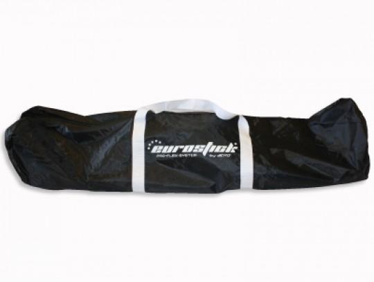 All-In Sport: Ideaal voor het transporteren, van robuust nylon materiaal, voor 12 sticks resp. complete Floorballset. Afm. 120 x 21 x 26 cm.