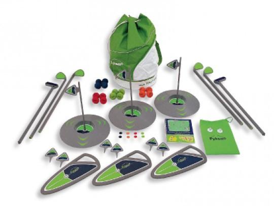 All-In Sport: <p>De school Golf Kit Pykamo omvat de golfartikelen voor een kleine groep (maximaal 6 spelers tegelijkertijd).</p> <p></p> <p>Kwa...