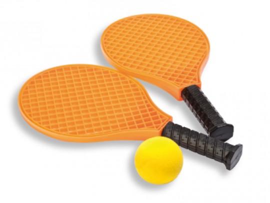 All-In Sport: Sportief spel met variaties, 2 rackets, 1 bal en uitgebreide spelinstructie.