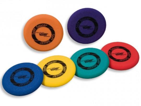 All-In Sport: Ø 25 cm veilig en zacht, geen schrammen en krassen aan meubilair en inventaris, met opdruk. Levering assorti in rood, blauw, groen, geel,...