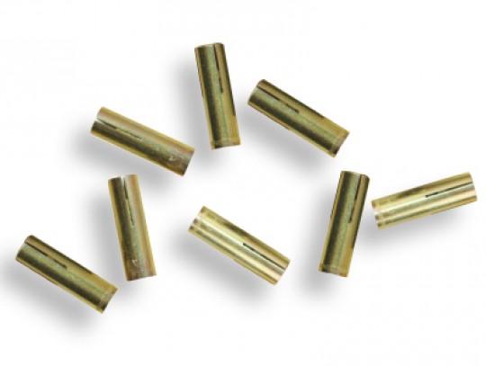 All-In Sport: 10 Stück Einschlagdübel M10, passend für M10er Schrauben. Zur Anbringung wird das Einschlagwerkzeug D4637 benötigt.