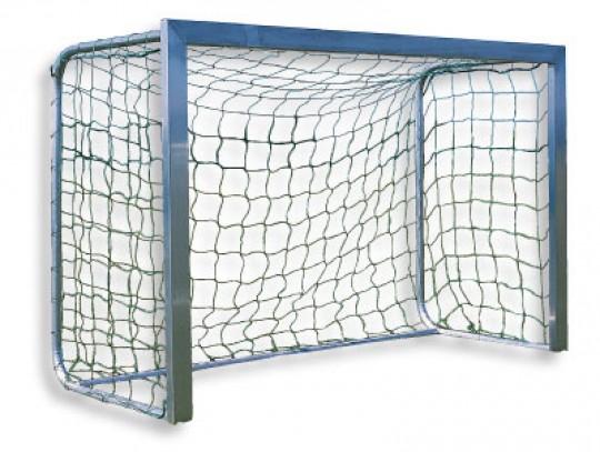 All-In Sport: Afm. 180 x 120 cm, 80 cm diep. Van aluminium, doelframe compleet gelast, 80 cm diep, netbeugels inklapbaar, met grondstang. Compleet met ...