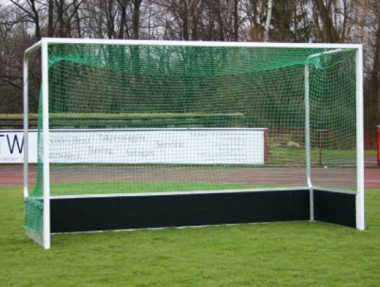 All-In Sport: Van ca. 2,5 mm PP slijtvast, maaswijdtte 2,5 cm, volgens nieuwste regelvoorschriften.