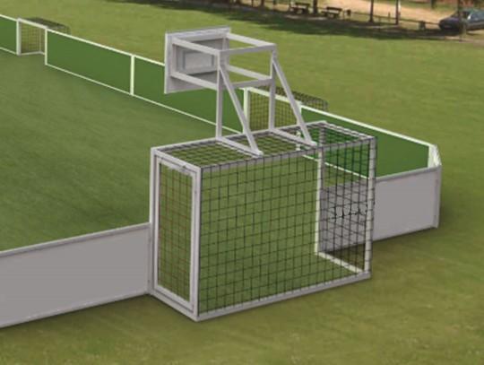 All-In Sport: <p>De ideale aanvulling voor uw stationaire Street Soccer Court!</p> <ul> <li>Met borden, ringen en netten</li> <li>Wordt met speciale...