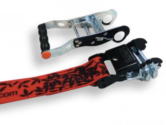 All-In Sport: Slackline met gepatenteerde ratel en afneembare hendel, daardoor minimaal swinggewicht, maximale veiligheid en diefstalbeveiliging in één...