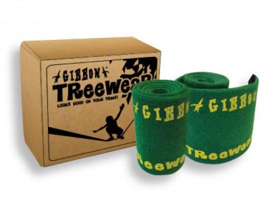 All-In Sport: Boombeschermer voor Slackline van hoogwaardig vilt met klittenbansluiting. De Tree-wear beschermd niet alleen de boom maar ook de Slackli...