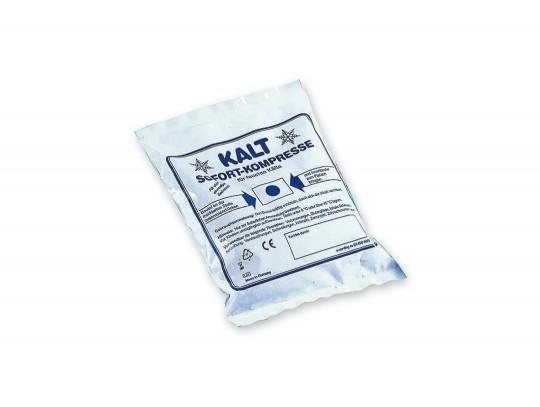 All-In Sport: der Eisbeutel ohne vorherige Kühlung 15 x 17 cm. Zur Einmalanwendung.