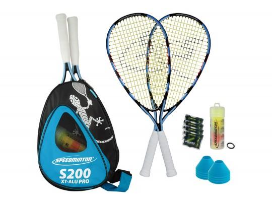 All-In Sport: Speedminton ist eine Racketsportart, bei der neuartige, speziell entwickelte Federbälle, die Speeder mit bemerkenswertem Drive gespielt...