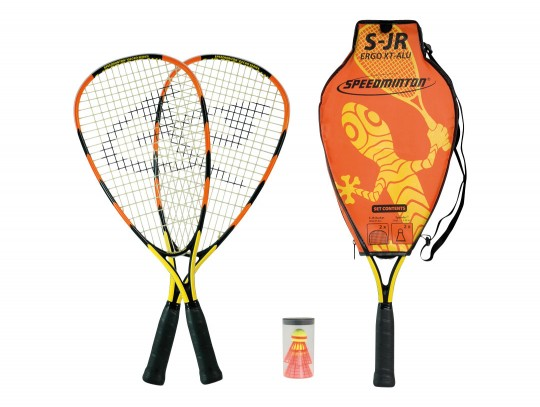 All-In Sport: De set bestaat uit:<br />- 2 verkorte Junior-rackets (ideaal voor 6-12 jaar)<br />- 2 Fun-Speeders<br />- 2 Speedlights<br />- 1 racketsh...