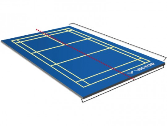 All-In Sport: Badmintonvloer Victor® MOBIEL