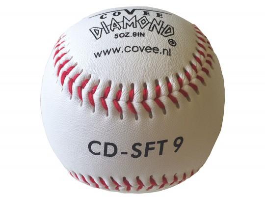 All-In Sport: <b>Honkbal Diamond, Ø ca. 7,3 cm - hoogwaardige bal met leren-cover en rubber kern.