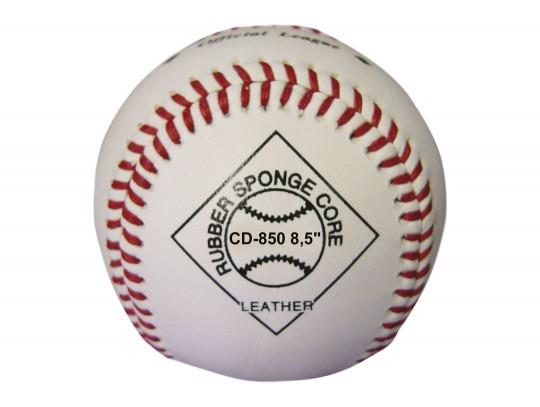All-In Sport: Leren-Safety-bal<br /><br />Deze honkbal beschikt over een rubber kern, waardoor de bal hard wordt. De buitenzijde van deze honkbal besta...