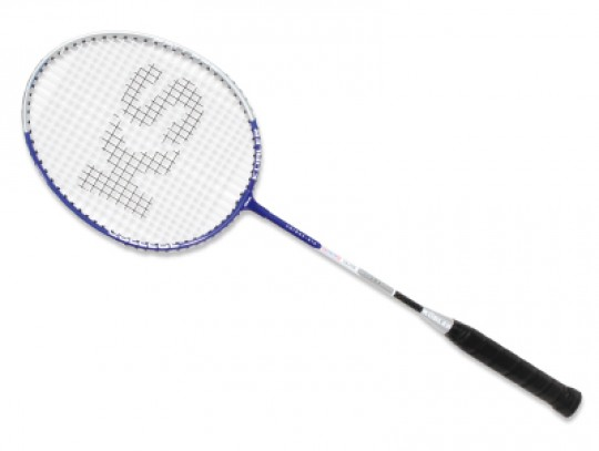All-In Sport: Aluminium frame 13 mm, carbon-shaft 8 mm met versterkt T-stuk en Lawntex bespanning. Aangenaam licht 95 gram en 66 cm lang racket, ideaal...