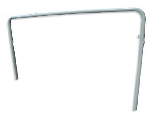 All-In Sport: lackiert für Tor mit festen und klappbaren Bügeln.
