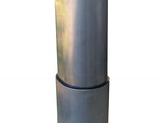 All-In Sport: Gummiriemen für Alu-Ovalprofil Pfosten 120x100 mm, damit die Pfosten leicht herausnehmbar bleiben. Kein unerwünschtes Eindringen von Schm...