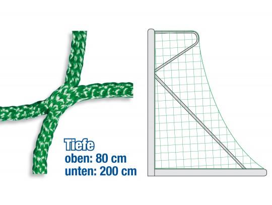All-In Sport: Voor voetbaldoelen 732 x 244 cm. Diepte boven 80 cm, onder 200 cm. Onze slijtvaste doelnetten doen wat ze beloven! Lange levensduur: hoge...