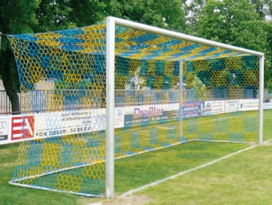 All-In Sport: Für Tore 732 x 244 cm, Netz hochfest knotenlos.  Tortiefe oben 80 cm, unten 200 cm. Unsere gewirkten Tornetze halten, was sie versprechen...