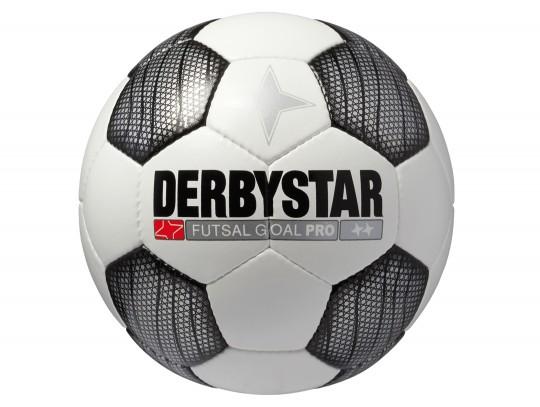 All-In Sport: <b>Derbystar Futsal GOAL PRO mit offizieller Größe und Gewicht</b><br /><br />Ein toller Futsal ideal für Wettspiele.<br /><br />Der prof...