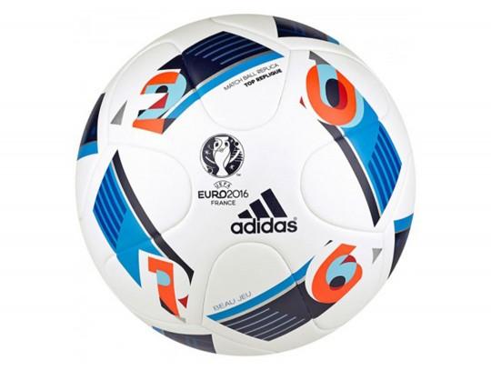 All-In Sport: De Adidas EURO 16 Top Replique is de optimale trainingsbal voor alle jonge spelers en gevorderden. Het baloppervlak is naadloos en bezit ...