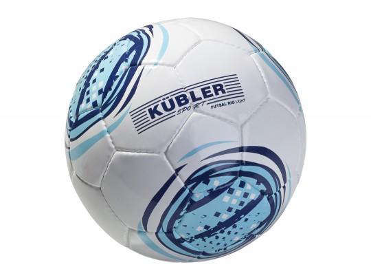 All-In Sport: Speciale Futsalbal met gedempte stuiteigenschappen en bijzondere slijtvastheid. Synthetisch leder, handgenaaid, in nieuw design.