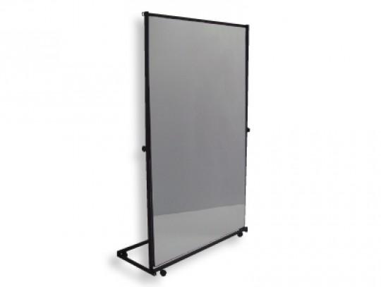 All-In Sport: <p>Maak uw gymnastiekspiegel resp. therapiespiegel verrolbaar.<br /><br />Met de verrolbare spiegel kan elke foliespiegel simpel een eenv...