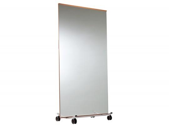 Dansspiegel verrolbaar spiegels gymnastiek turnen for Spiegel your name