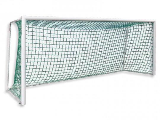 All-In Sport: Torrahmen aus superstabilen Alu-Spezialprofilen 500x200 cm. Ein hinten auf dem Torrahmen zusätzlich aufgesetzter Stahl-Verstärkungswinkel...