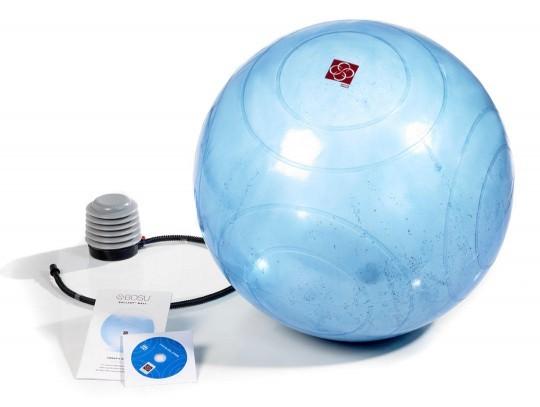 All-In Sport: Hét alternatief voor gebruikelijke gymnastiekballen! De Ballast Ball van BOSU® is niet alleen als zitbal en gymnastiekbal inzetbaar, maar...