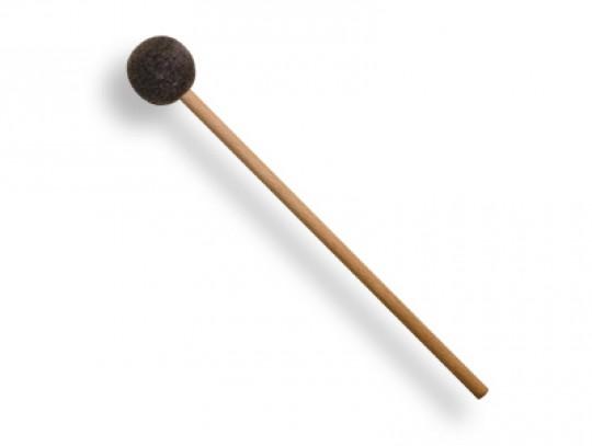 All-In Sport: Für Tamburine, Holzstab mit Filzkugel. Stablänge 22 cm, Kugeldurchmesser 3 cm, Gesamtlänge 25 cm.