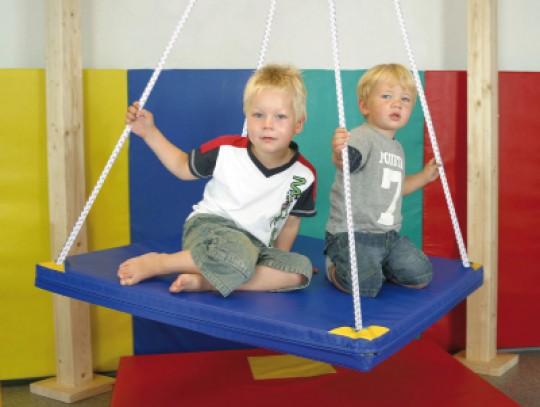 All-In Sport: Het materiaal van de schommel is zeer hoogwaardig en slijtvast. Ideaal dus voor de kinderopvang, gymzaal/sporthal of het motoriek- en bew...