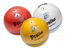 All-In Sport: Wedstrijdbal van rundnappa, volledig doorgekleurd, zelfpolijstend, onderhoudsvrij. Speciale Prellbalklasse. Gewicht 350-380 gram, DTB-toe...